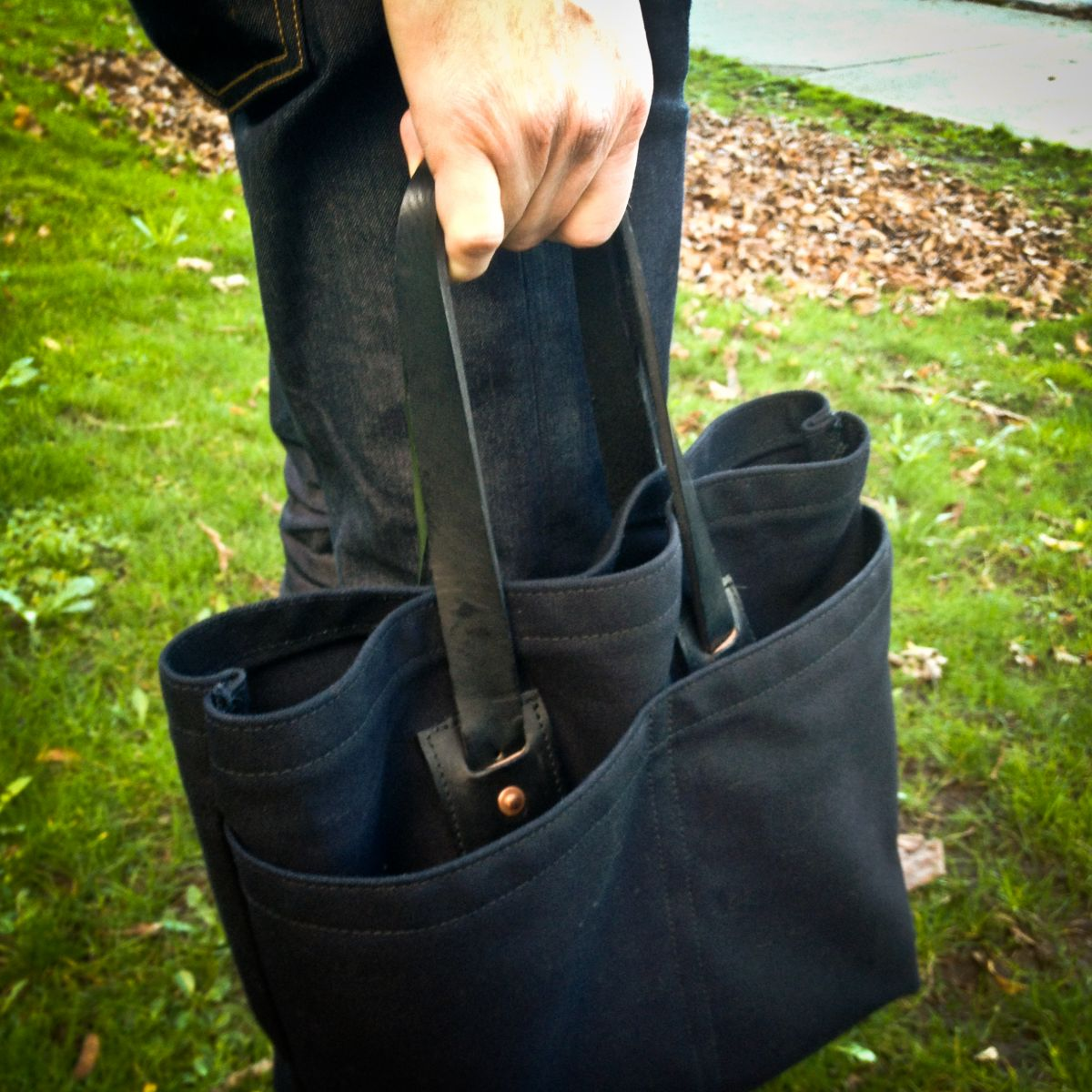 Black Anchor Workshop Tote