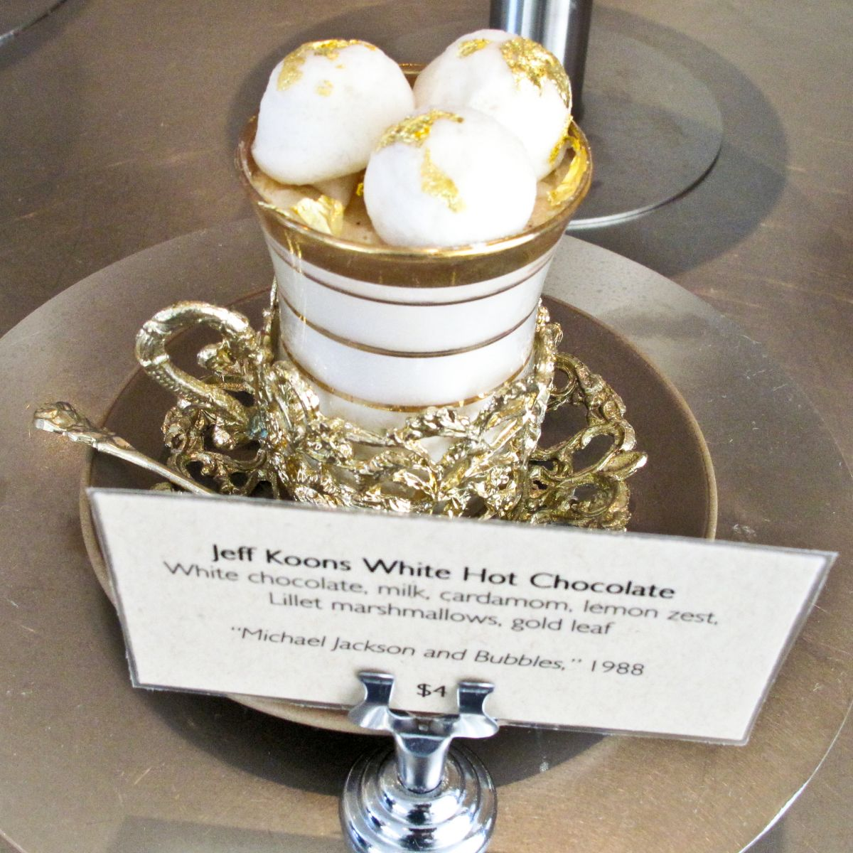 Jeff Koons Hot Chocolate